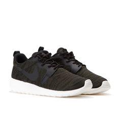 Nike Wmns Roshe Run Jacquard (Faded Olive / Schwarz / Sail)