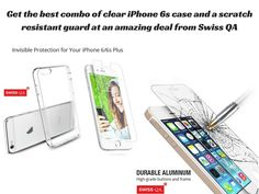 Amazing deal at an unmatched price; get the combo of clear and for your and your form scratches, shocks or any other hazards. Iphone 6 S Plus, Computer Accessories, 6s Plus, Slipcovers, Screen Protector, Perfect Fit, Iphone Cases, Amazing, Cases