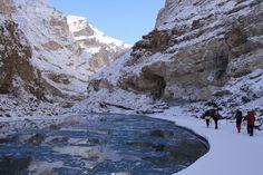 chadar the frozen river