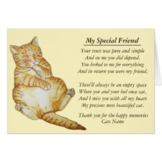 Shop cat and pet sympathy original poem card created by artoriginals. Hate Cats, I Love Cats, Rainbow Bridge Cat, Pet Poems, Pet Loss Quotes, Animal Line Drawings, Pet Loss Grief, Cat Signs, Cat Cards