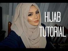 Easy Hijab Styles For Weddings and Eid Easy Hijab Style, Hijab Simple, Hijab Style Dress, Hijab Chic, Casual Hijab Styles, Abaya Style, Turban Hijab, Hijab Gown, Tutorial Hijab Pashmina
