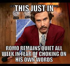 Nfl Humor Cowboys Romo