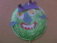 Go Away Big Green Monster craft