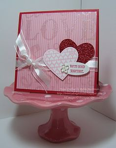 Shimmer Love by Princessforj - Cards and Paper Crafts at Splitcoaststampers