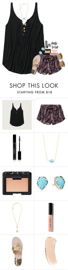 """soooo close to 1k"" by sdyerrtx ❤ liked on Polyvore featuring Abercrombie & Fitch, Christian Dior, Kendra Scott, NARS Cosmetics, Michael Kors, Bobbi Brown Cosmetics, Jack Rogers and Yves Saint Laurent"