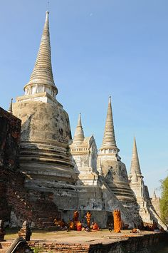 Ruined ancient city of Ayutthaya, Thailand | UNESCO World Heritage Site