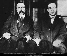 ⌛️23 août 1927 : Sacco et Vanzetti passent sur la chaise électrique. Les deux anarchistes italiens ont-ils été victimes d'une erreur judiciaire ? Leur procès a, en tout cas, mobilisé l'opinion internationale. Pour leurs accusateurs, les deux émigrés étaient de dangereux «rouges» étrangers. Pour leurs défenseurs, ils restent les victimes symboliques d'une Amérique xénophobe, saisie par la «chasse aux sorcières ».