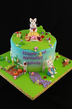 Max and Ruby cake- such cute details