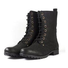 b08dc16d1de4b9 Designer Clothes, Shoes & Bags for Women | SSENSE. Shoes Boots  CombatMilitary Combat BootsShoe BootsBlack Combat BootsBlack Lace Up ...