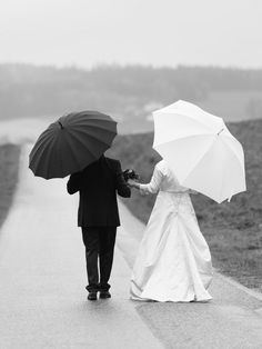 Together by JohannesSchuller Wedding Portraits, April April, Photos, Rain Drops, Wedding Day, Photo Illustration