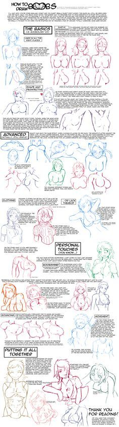 How to Draw Boobs by ragingtofu on DeviantArt Body Reference Drawing, Art Reference Poses, Anatomy Drawing, Anatomy Art, Body Drawing Tutorial, Poses References, Drawing Poses, Female Drawing, Art Drawings Sketches