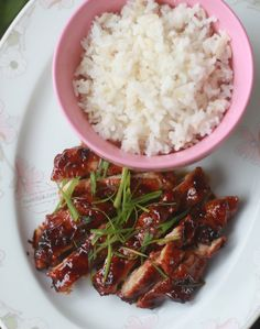 Chicken teriyaki - When you discover what's in a bottle of teriyaki sauce, you will wonder why you have been buying bottles and bottles of the stuff when it's so easy to prepare it at home. Mirin, sake, soy sauce and, optionally, honey. I like to add a bit of ginger but it's not really a must. In …
