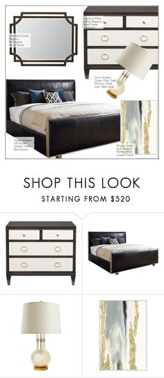 """""""Bedroom Decor"""" by kathykuohome ❤ liked on Polyvore featuring interior, interiors, interior design, home, home decor, interior decorating, bedroom and Home"""