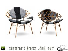 Part of the *'Sunterra's Breeze' Outdoor*  Found in TSR Category 'Living Chairs'