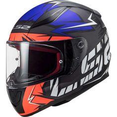 Κράνος #LS2 FF353 Rapid Cromo Matt Fluo Orange-Blue