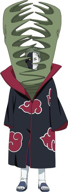 Zetsu Tenue Akatsuki .