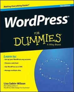 Not a WordPress guru? No worries! You can become a pro in no time It seems as though the world revolves around websites and blogs these days, and with WordPress For Dummies, 7 th Edition you can join