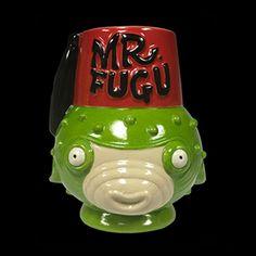 Mr. Fugu Tiki Mug by Tiki Farm