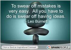 Motivational Quote by Leo Burnett