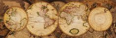 Map of the World: Nova Totius Terrarum Orbis Art at AllPosters.com