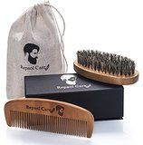 Highest Quality Boar Bristle - Smooth Viking's Beard Brush uses only the highest quality Black Wild Boar bristle to ensure you receive the best results when it comes to shaping, styling and simply grooming your facial hair. This brush contains no synthetic filler bristles that could detach in your beard or irritate the skin underneath.