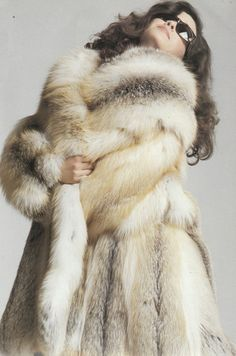 """This is an old pic'. I've loved this pic since I was little girl. It should be called; """"The Joy of Fur"""""""