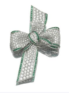 TIFFANY AND COMPANY  BROOCHES | Marie Poutine's Jewels & Royals: Jeweled Bow Brooches, Part II