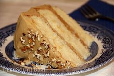 Southern Caramel Cake - A Tribute to The Help Movie - A light, tender yellow butter cake with a classic boiled icing, traditionally made from burnt sugar or for more modern versions, with boiled brown sugar. Southern Recipes, Sweet Recipes, Cake Recipes, Dessert Recipes, Frosting Recipes, Southern Food, Köstliche Desserts, Delicious Desserts, Yummy Food