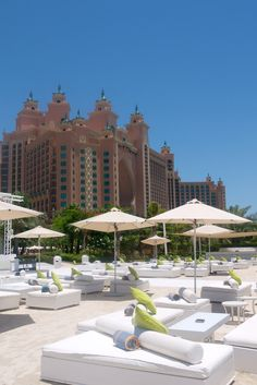 Atlantis, The Palm, Palm Jumeirah, Dubai, United Arab Emirates. *Superb, 9/10 *Lazy river *Relaxing bath *Superb dining