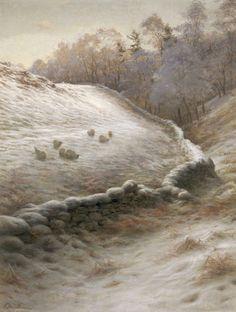 Winter Afternoon at Finzean by Joseph Farquharson
