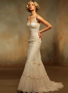 Vintage Lace wedding gown - Wedding look