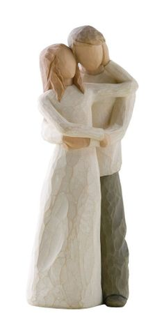Partner In Love And Life Willow Tree Figurine by ALPHAVENTURES, $35.00