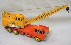 Retro Toys, Vintage Toys, Toy Crane, Tonka Toys, Childhood Memories, Diecast, Collection, Toys, Tin Cans