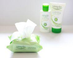 Simple Skincare Cleansing Facial Wipes - via @poorlilitgirl (Poor Little It Girl)