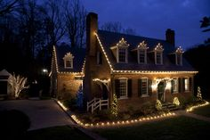Custom Holiday Lighting for the Home Brings out Style and Spirit | INARAY Outdoor Lighting