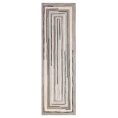 You'll love the Concentric Hand Tufted Wool Gray Area Rug at Perigold. Enjoy white-glove delivery on large items. Gray Runner Rug, Transitional Rugs, Area Rug Sizes, Indoor Outdoor Area Rugs, Traditional Decor, Carpet Flooring, Eclectic Design, Brown And Grey, Orange Brown