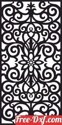Laser Cut Panels, 3d Panels, Window Panels, Panel Doors, Horse Pattern, Pattern Art, Wall Separator, Partition Door, Decorative Screen Panels