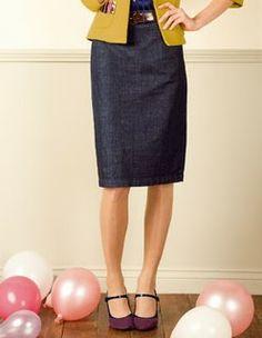 "McCall's 3830 - aka ""holy grail"" of straight skirt patterns"