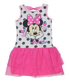 Pink Minnie Mouse Dress - Girls