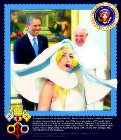 #ANSWER #PresidentObama #PopeFrancis were talking about #LadyGaga! #FT #NCIS #KatyPerry #Madonna #DrewCarey #AprilFoolsDay #solar https://picasaweb.google.com/117307569159279348033/HappyBirthdayLadyGaga#slideshow/5997444094796566418