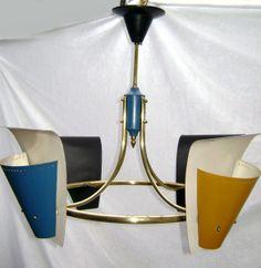 Antigo Lustre Anos 50/60 - Design - R$ 1.500,00 no MercadoLivre