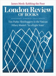 f610402910ba LRB · Tim Parks · The Passion of the Bureaucrats  Skulduggery in the Vatican