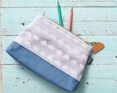 Cloud cosmetic bag / large pencil case gift for by PygmyCloud