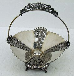Vintage Quadruple Silver Plate Fancy Victorian by RetroCentsStudio