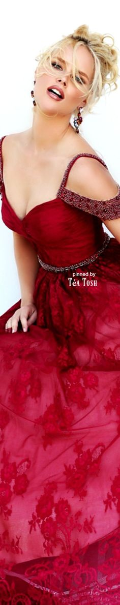 ❇Téa Tosh❇Sherri Hill, Fall 2016