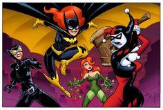 #Sirens #Fan #Art. (Batgirls Animated) By: HillmanArts. [THANK U 4 PINNING!!]