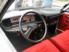 Citroen GS interieur