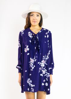 Knot Sisters Valley Floral Dress