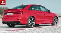 Erleben Sie die brandneuen Audi RS3-Limousine im ersten Videos Audi Audi RS3 Audi Videos Featured New Cars Paris Auto Show Video