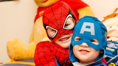 kids in spiderman and Captain America costumes photo – Free Human Image on Unsplash Valentine Love Messages, Bebe Logo, Spiderman Theme Party, Superhero Party, Pirate Party, Best Kids Watches, Captain America Costume, Kids Carnival, Young Adults